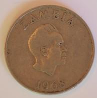 ZAMBIA 10 NGWEE 1968 - Zambia
