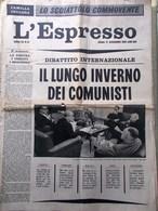 L'Espresso Del 17 Dicembre 1961 Luthuli Comunisti Loren O'Brien Brigitte Bardot - Guerre 1914-18