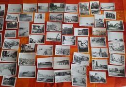 DUNKERQUE Bombardement 2 ème Guerre Mondiale 39/45 Lot Environ 300 Photos Différentes Dans Un Lot D'environ 350 Photos - Reproducciones