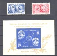Romania / Rumanien  Michel # 2171- 72 +  Block 54 ** Tereskova + Bikovski - 1948-.... Républiques