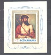 Romania / Rumanien  Michel #   Block 64 **  Tiziano - 1948-.... Républiques
