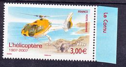 France PA  70a Hélicoptère De Feuille De 10 2007  Neuf ** TB MNH Sin Charnela Faciale 3 - 1960-.... Neufs