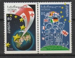 GEORGIE - N°409/10 ** (2006) EUROPA - 2006