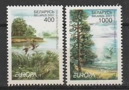 BIELORUSSIE - N°370/1 ** (2001) EUROPA - 2001