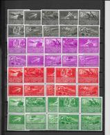 Autriche - Série De 100 Vignettes Wien Wipa 1933 - Neuf ** Sans Charnière - TB - Otros
