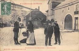 88-A LA FRONTIERE DES VOSGES, DOUANIERS ET CONTREBANDIERS, UN SURPRISE - Autres Communes