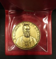 Medaglia A Giorgio Vasari Aretino 1511 1574 -1974 E. Scatragli 70mm - Royaux/De Noblesse