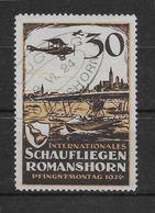 Allemagne - Vignette Romanshorn 1924 - Oblitéré - TB - Aéreo