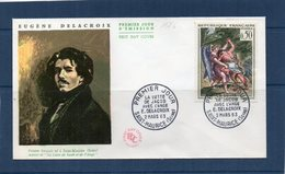 PREMIER JOUR - 1376 - Delacroix - 1960-1969