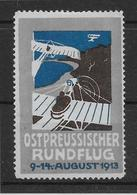 Allemagne - Vignette Ostpreussischer 1913 - Neuf Sans Gomme - TB - Aéreo