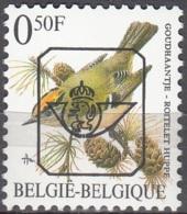Belgique 1991 COB Préo 815 Neuf ** Cote (2016) 0.25 Euro Oiseau Roitelet Huppé - Tipo 1986-..(Uccelli)