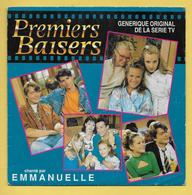 Disque Vinyle 45 Tours : EMMANUELLE : PREMIERS BAISERS ..Scan C  : Voir 2 Scans - Filmmuziek