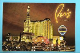 ETATS-UNIS---LAS VEGAS---PARIS LAS VEGAS--voir 2 Scans - Las Vegas