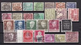 Berlin - 1949/54  - Sammlung - Gest./Postfrisch/Ungebr. - Gebraucht