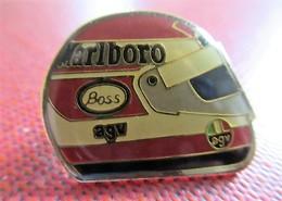 Casque F1 - Marlboro, Boss, AGV - F1