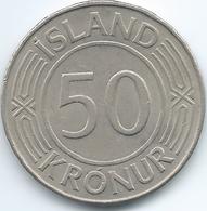 Iceland - 50 Kronur - 1976 - KM19 - Iceland