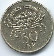 Iceland - 50 Kronur - 2001 - KM31 - Iceland