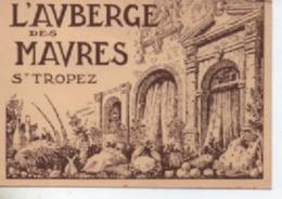 SAINT TROPEZ L AUBERGE DES MAURES CM - Saint-Tropez