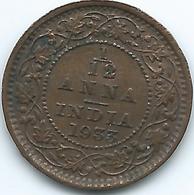 India - George V - 1933 - 1/12 Anna - KM509 - India