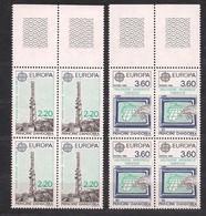 Cept 1988 Andorre Andorra Yvertn° 4 X 369-70 *** MNH Cote 52 Euro - 1988