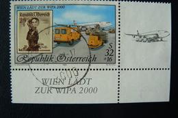 Autriche - Yvert N° 2120 CdF Oblitéré - WIPA 2000 - 1991-00 Used