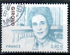Yt 5979-8 Françoise Giroud_cachet Rond - France