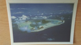 CSM -  Maupiti - L'île Vue D'avion - Cartoline