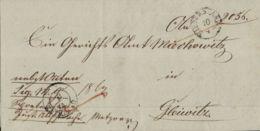 1844 KIEFERSTAEDT Bf M. Inh. N. Gleiwitz - [1] Prephilately