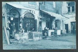 Gard. Nîmes,ancien Marché ; François étameur Et Chaussures Cassiano - Nîmes