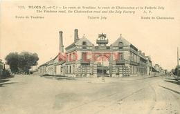 SL 41 BLOIS. Tuilerie Joly Routes De Vendôme Et Châteaudun 1927 - Blois