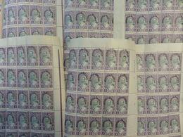 Albanie YT N° 217A En Six Blocs De 25 Timbres Neufs ** MNH. TB. A Saisir! - Albanie