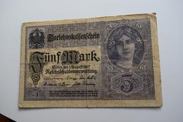 5 Mark 1917 - [ 2] 1871-1918 : Impero Tedesco
