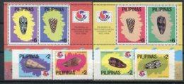 Philippines Exposition Philatélique Corée  1994, 2101/2104 ** + Blocs 80/81 ** - Universal Expositions