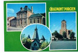 CPSM CHAUMONT Porcien Multivues - Francia