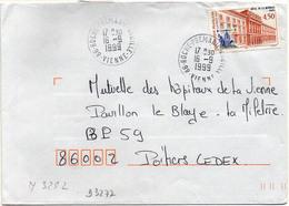 France N° 3252 Y. Et T. Vienne Roche Prémarie Andillé Cachet A9 Du 16/09/1999 - Marcophilie (Lettres)
