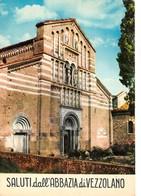 Cartolina Abbazia Di Vezzolano Facciata - Asti