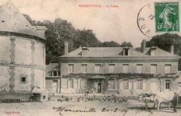 TRES RARE - EURE 27 - BACQUEVILLE (environs) - MARCOUVILLE - Ferme - Pigeonnier - Autres Communes