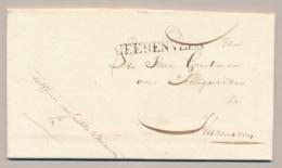Nederland - 1828 - HEERENVEEN PEP 1120-04 Op Complete Lokale Vouwbrief Officier Van Justitie - Nederland