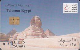 EGYPT CTE- 05 Spinx And Pyramids - Egipto