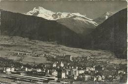Brig (Valais, Svizzera) Gegen Den Simplon, Wasserhorn, Breithorner, Hubschhorn, Vue Generale, Ansicht - VS Valais