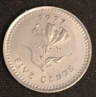 RHODESIE - RHODESIA - 5 CENTS 1977 - KM 13 - Rhodésie