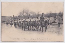 Saint-Omer - Carte-Imprimée 21e Régiment De Dragons En Route Pour La Manoeuvre Iéna Eylau Almonacid Ocana Prentzlow Ulm - Saint Omer