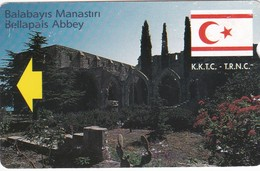 North Cyprus, NCY-KKT-M005A, Bellapais Manastiri (Ballapais Monastery), 2 Scans   No Barcode - Cyprus