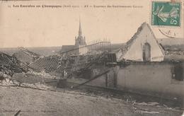 Rare Cpa AY Les Extérieur Des établissements Gallois Champagne 1911 - Ay En Champagne