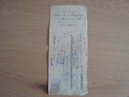 LETTRE DE CHANGE A. LUMIERE 1 SES FILS PLAQUES 1 PAPIERS PHOTOGRAPHIQUES 1906 - Bills Of Exchange