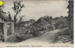 80, Somme, MONTDIDIER, Rue Des Tanneries, Scan Recto Verso - Montdidier