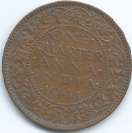 India - George VI - ¼ Anna - 1941 - KM531 - Calcutta Mint - India