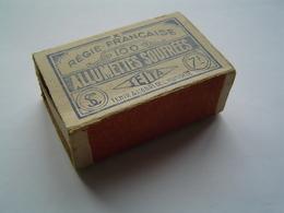 REGIE FRANCAISE DES TABACS - SEITA 1935 : BOITE D' ALLUMETTES - Andere
