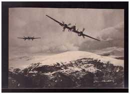 DT- Reich (008937) Propagandakarte Messerschnitt- Zerstörer Me 110 über Dem Balkangebirge, Ungebraucht - Germany