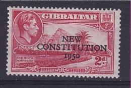 Gibraltar: 1950   Inauguration Of Legislative Council    SG140    2d     MNH - Gibraltar